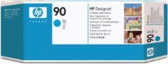 Cyane HP 90 - Inktcartridge / Cyaan + Cleaner