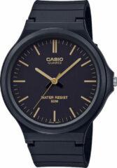 CASIO - MW-240-1E2VEF - Casio Collection - horloge - Mannen - Zwart - Kunststof Ø 43 mm