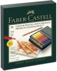 Faber Castell Kleurpotlood Faber-Castell Polychromos studiobox à 36 stuks
