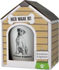 Witte Paper dreams Mok – Rhodesian Ridgeback – Dier – Puppy – Hond – Dieren – Mokken en bekers – Keramiek – Mokken - Porselein - Honden – Cadeau - Kado