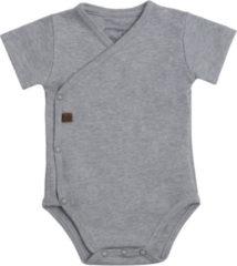 Baby's Only Rompertje Melange - Grijs - 68 - 100% ecologisch katoen - GOTS
