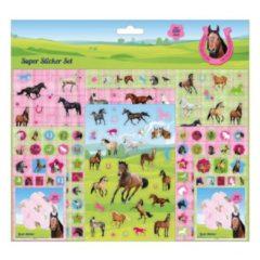 Boeketbinderij.be Stickerset Paarden 500+