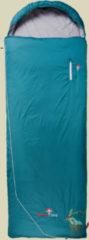 Grüezi bag Biopod Wolle Goas Comfort Schlafsack Wolle bis Körpergröße Schlafsack 191 cm cm dark petrol, Schlafsack links