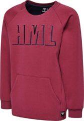 Rode Hummel sweater bordeaux maat 140