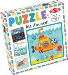 Tactic My First Puzzles 4x6 stukjes: All Aboard!