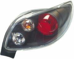 Universeel Set Achterlichten Peugeot 206 CC - Zwart