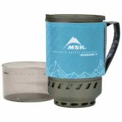 MSR - WindBurner 1.8 L Accessory Pot - Pan maat 1,8 l, grijs/turkoois/blauw
