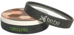 Donkerbruine Boho Green make-up Boho Green- Natural Vegan Healthy Glow Mozaik Powder- Terra Cotta Poeder-natuurlijke make-up