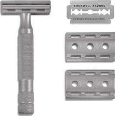Zwarte Rockwell Razors Rockwell Safety Razor 6S - rvs