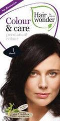 Hairwonder Colour & Care 1 - Black - Haarverf
