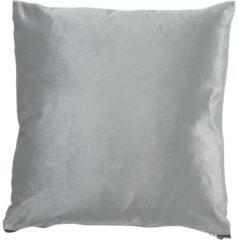 Licht-grijze Dutch Decor Sierkussen Flaxa 45x45 cm lichtgrijs