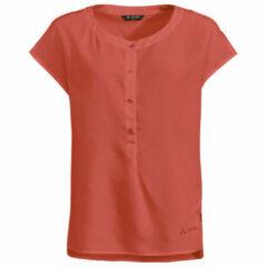 Vaude - Women's Zaneta Shirt - Blouse maat 34, rood