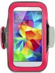 Belkin SlimFit Sportarmband voor Samsung Galaxy S5 - Roze