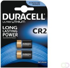 Duracell Ultra Lithium CR2 Fotobatterij - 2 Stuks