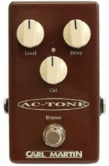 Carl Martin Single Channel AC-Tone overdrive effectpedaal