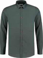 Dstrezzed Overhemd - Slim Fit - Groen - 3XL Grote Maten