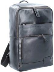 Connor Rucksack Leder 43 cm Laptopfach Strellson black