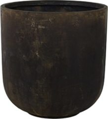 DBT - Bloempot - Plantenbak - Grote bloempot - Bloempot XXL - Zwart - Kunststof - Cement