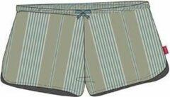 Comfort At Home With Marieke Natural Stripe ladies short op=op S