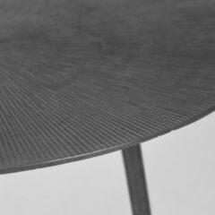 LABEL51 Nobby Bijzettafel voor binnen - Grijs - Metaal - 40 cm