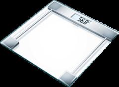 Transparante Sanitas SGS 06 - moderne glazen personenweegschaal