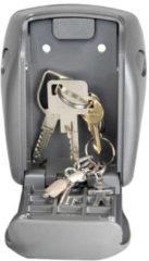 Zilveren MasterLock Sleutelkluis 5415EURD – Centraal opbergen van sleutels - Weersbestendig - 13,2x10,5x4,3 cm