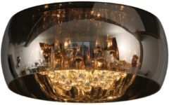 Lucide Plafonniere Pearl met kristal 70163/06/11