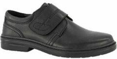 Gallus Heren Zwarte leren geklede schoen - Maat 46