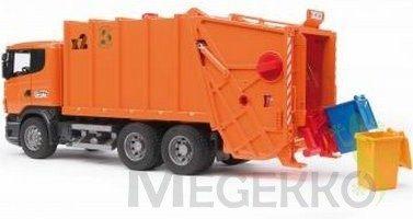 Afbeelding van Oranje Bruder 03560 - Scania R-serie vuilniswagen