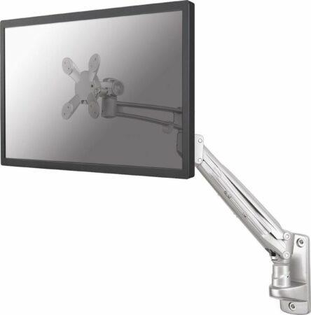 """Afbeelding van New Star Products Newstar FPMA-W940 - in hoogte verstelbare wandbeugel - geschikt voor schermen t/m 30"""" - zilver"""