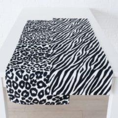 Extra Tafelloper luipaard zebra set van 2 stuks