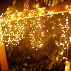 Aigostar 10m LED Prikkabel - String Light - 250 LEDs - 2400K Warm wit - IP44 Lichtsnoer buiten