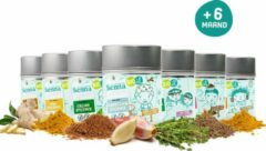Sienna & Friends S&F - BIO - Pack van 7 kruidenmengelingen voor babies en kids - 8m+