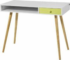 Witte Simpletrade Bureautafel - Bureau - Lade - Hout - 90x46x73 cm