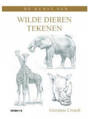 Kosmos Boek - De kunst van wilde dieren tekenen Giovanni Civardi