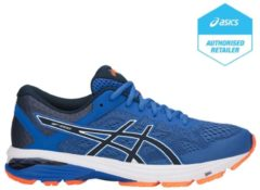 Asics Men's Running GT-1000 6 Trainers - Victoria Blue/Dark Blue/Shocking Orange - UK 10 - Blue