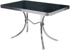 WT Trading Bel Air Retro Eettafel TO-36 Blackstone - Bel Air Retro Eettafel TO-36 Blackstone