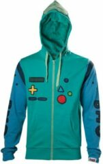 Blauwe Merkloos / Sans marque Adventure Time - Beemo Cosplay unisex hoody vest met capuchon multicolours - M - Televisie cartoon merchandise
