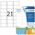 Adresetiketten Herma 5029 Premium A4 63,5x38,1 mm wit papier mat 525 st.