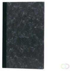 Office Breedfolio 192blz met twee geldkolommen zwart