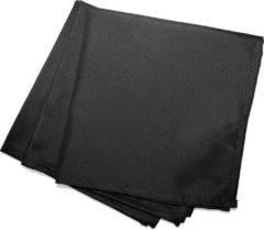 Wicotex Servetten Essentiel 40x40cm zwart 3 stuks polyester