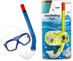 Gele SportX Junior Snorkelset Comfort 8-12 jaar Assorti