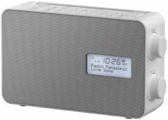 Panasonic RF-D30BTEG-W Keukenradio DAB+, FM DAB+, FM, Bluetooth, AUX Wekfunctie, Spatwaterbestendig Wit