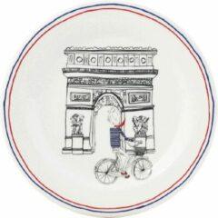 GIEN FRANCE - Ca C'est Paris - Gebakbordje Arc de Triomphe Zwart