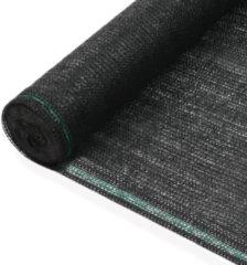 VidaXL Tennisnet 1,2x100 m HDPE zwart