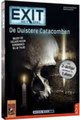 999 Games EXIT De Duistere Catacomben Breinbreker - Escape Room - Bordspel