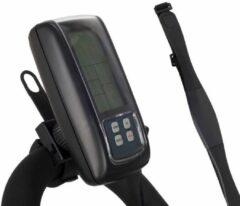 Zwarte Trainingscomputer FitBike met borstband