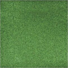 Rayher hobby materialen 3x stuks groene glitter papier vellen 30.5 x 30.5 cmm - Hobby scrapbooking artikelen