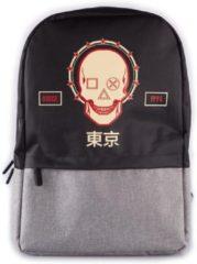 Sony Rugzak Playstation Skull 21 Liter Polyester Zwart/grijs