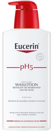 Afbeelding van Eucerin pH5 Waslotion met Pomp - 400 ml - Lichaamsreiniging